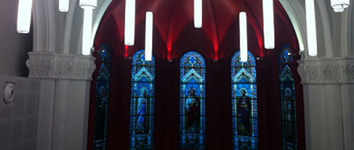 <p>Eglise du coll&egrave;ge&nbsp;Louis Querbes (69390)</p>